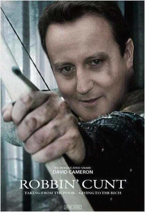 What a cunt (Cameron)