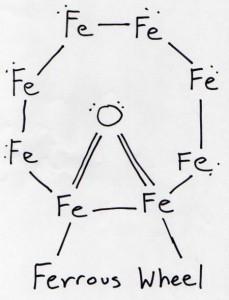 Ferrous wheel